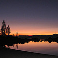 Sunset At Lake Tahoe by Dianne Phelps