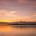 Sunset At Lake Titicaca - Peru by Christian Tuk