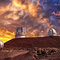 Sunset At Mauna Kea Summit by Dominic Piperata