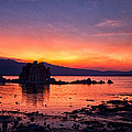 Sunset At Mono Lake by Cat Connor