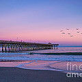 Sunset At Myrtle Beach by Rima Biswas