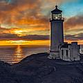 Sunset At North Head by Robert Bales