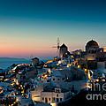 Sunset At Oia by Kim Pin Tan