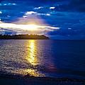 Sunset At Parksville Beach by Christi Kraft