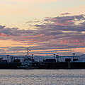 Sunset At Port Angeles by Heidi Smith