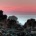 Sunset At Salt Point by Bob Christopher