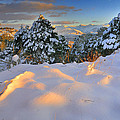 Sunset At Sierra Nevada by Guido Montanes Castillo