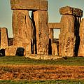 Sunset At Stonehenge 2 by Deborah Smolinske