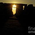 Sunset At Stonehenge 5 by Deborah Smolinske
