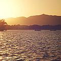 Sunset At Summer Palace by Yew Kwang