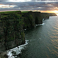 Sunset at the Cliffs of Moher Ireland by Pierre Leclerc Photography