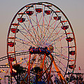 Sunset At The Fair by David Lee Thompson
