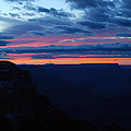 Sunset At The Grand Canyon by Pamela Peters