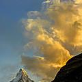 Sunset At The Matterhorn Switzerland by Oscar Gutierrez