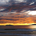 Sunset At The Shores by Janice Westerberg