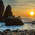 Sunset At The World's End II by Marco Oliveira