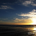Sunset At Westport Beach by Ron  Tackett