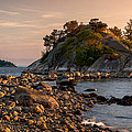 Sunset At Whyte Islet by Alexis Birkill
