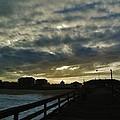 Sunset Avon Pier 1 10/15 by Mark Lemmon