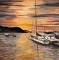Sunset Bay by Julia RIETZ