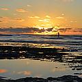 Sunset Beach by R Maass