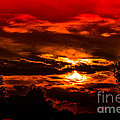 Sunset Before The Storm by Ron Fleishman