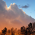Sunset Between Storm Cells by Glenn McGloughlin