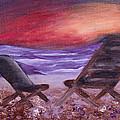 Sunset Bliss by Ginny Heavner