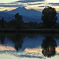 Sunset Blue by Margaret Bobb