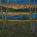 Sunset by Brenda  Drain