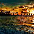 Sunset Bridge by Photos By  Cassandra