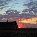 Sunset By The Barn by Bonfire Photography