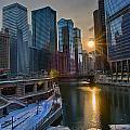 Sunset Chicago by Ryan Crane