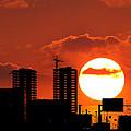 Sunset City by Konstantin Sutyagin