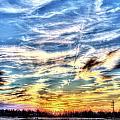 Sunset Clouds by David Zarecor