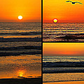 Sunset Collage by Sharon Tate Soberon
