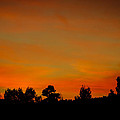 Sunset Colors On Fire by Penny Lisowski