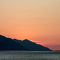 Sunset Cook's Inlet Alaska by Laura Duhaime