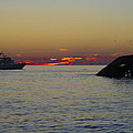Sunset Cruise At Cape May by Bill Cannon
