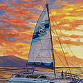 Sunset Cruise by Darice Machel McGuire