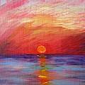 Sunset Delaware Bay by Marita McVeigh