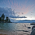Sunset Drama At Tahoe by Dianne Phelps