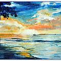 Sunset Drama by Jim Melton