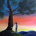Sunset Fairy By Shawna Erback by Shawna Erback