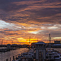 Sunset Harbor by Brian Wright