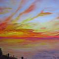 Sunset I by Dottie Kinn