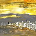 Sunset In Benidorm by Miki De Goodaboom