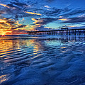Sunset In Blue by Beth Sargent