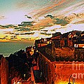Sunset In Capoliveri - Toscany by Gluca Pagnini
