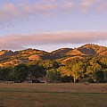 Sunset In Carmel Valley California by Mimi Saint DAgneaux
